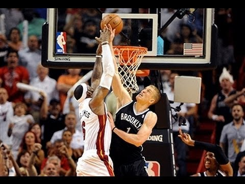 LeBron James Blocked by Mason Plumlee to Save the Game!