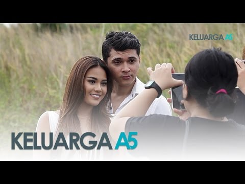 Keluarga A5: Shooting Vklip Aurel Mesra Sama Cowok - Episode 43