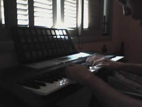 Awaiting the Vultures - Karl Sanders Keyboard Cover by Erich William