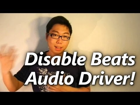 HP Laptop: Disable Beats Audio Driver (Last Resort Move!)