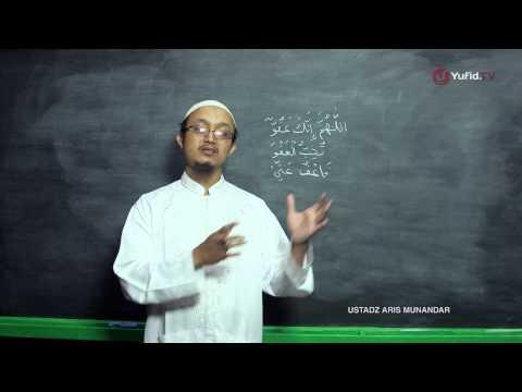 Serial Kultum Ramadhan: Doa Malam Lailatul Qodar - Ustadz Aris Munandar