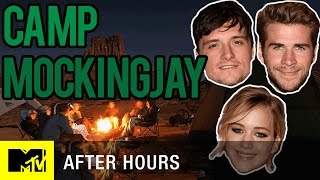 Jennifer Lawrence & the 'Mockingjay' Cast Get Crazy at Camp | MTV After Hours with Josh Horowitz