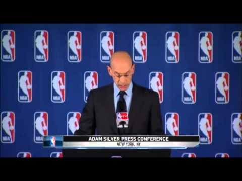 NBA Comissioner Adam Silver Bans Donald Sterling For Life From NBA
