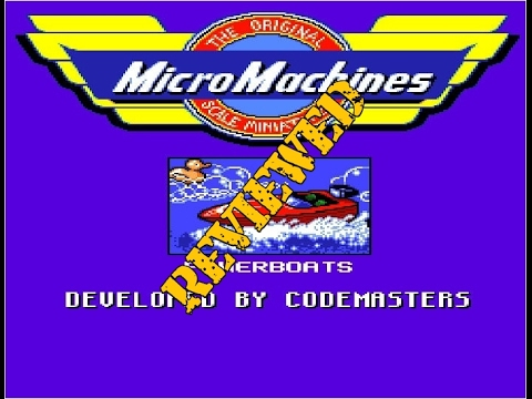 Episode #108 - Micro Machines - Amiga Review