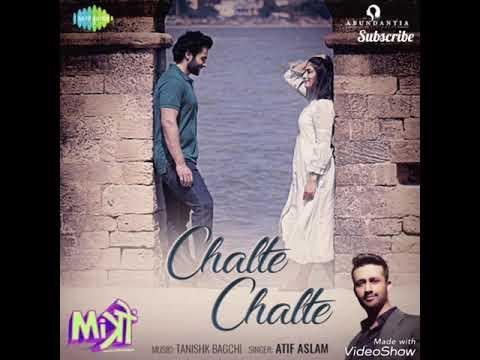Chalte Chalte Remix | Mitron Chalte Chalte Song | Atif Aslam