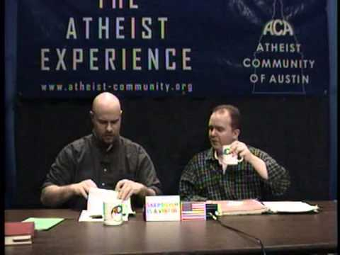 Atheist Experience #331: Stem Cells, Morning After Pill
