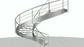 play stairdesigner dessiner un escalier helicoidal. Black Bedroom Furniture Sets. Home Design Ideas