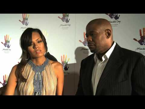 Mandela Day / Los Angeles Gala Footage Video