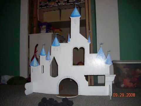 Cardboard Castle Youtube