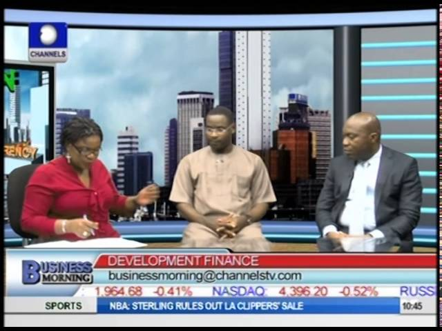Business Morning: Development Financing And Planned Bank Of Industry Partial Privatisation Part2