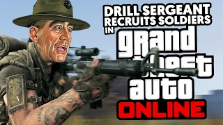 DRILL SERGEANT RECRUITS SOLDIERS 2
