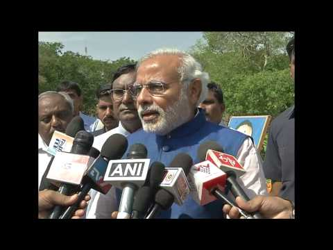 Live: Narendra Modi Pays Tribute To Dr Babasaheb Ambedkar video
