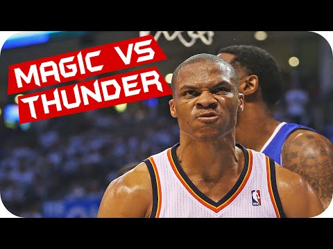 NBA LIVE 14 - Orlando Magic VS Thunder [XBOX ONE]
