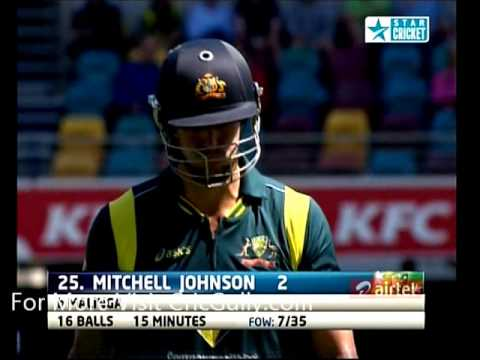 Australia Lowest ODI Total - Bowled Out for 74 Against Sri Lanka : Highlights