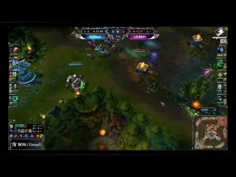 How to turn a 4v1 gank by Madlife and CJ Entus Frost against LG IM