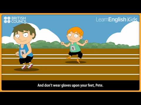 Don't put your trousers on your head | LearnEnglish Kids | British Council