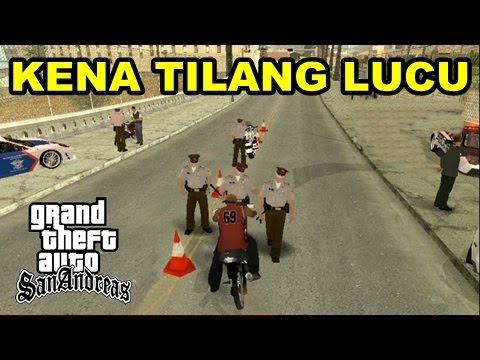 KENA TILANG LUCU - GTA Razia Lucu Polisi Lalu Lintas!