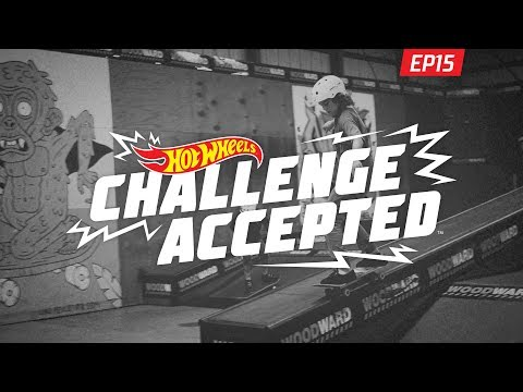 50-50 The Flat-Down Ledge - Hot Wheels Challenge Accepted