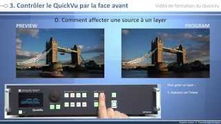 QuickVu - QVU150-3G Vidéo de formation : mode Mélangeur
