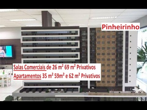 Decorado  Sala comercial Pinheirinho Curitiba lançamento investimento