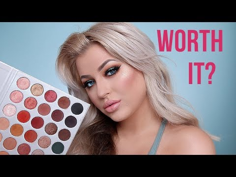 JACLYN HILL X MORPHE PALETTE   REVIEW. SWATCHES. & TUTORIAL!
