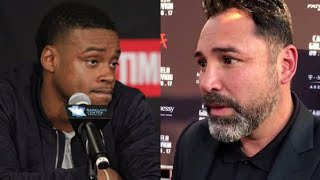 "ERROL SPENCE TO DELA HOYA: ""YOU DON'T TREAT BLACK FIGHTERS WELL BROTHA"""