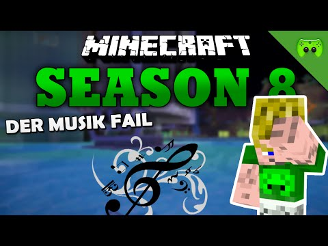 DER MUSIK FAIL «» Minecraft Season 8 # 186 HD
