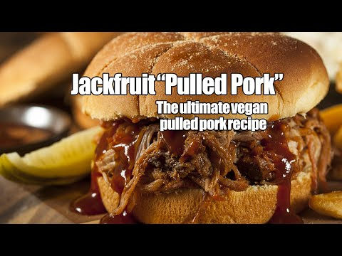 BBQ Jackfruit - Amazing vegan BBQ recipe has the texture and taste of pulled pork