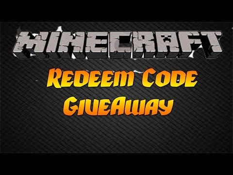 [Open] Minecraft Redeem Code Give Away 2015  Minecraft on PS4