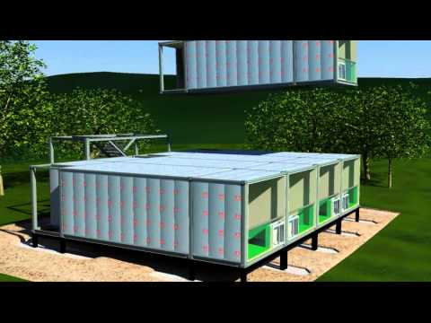 Arkistruct s Mass Produced Unfolding Accommodation and Panelized Modular Housing Solutions