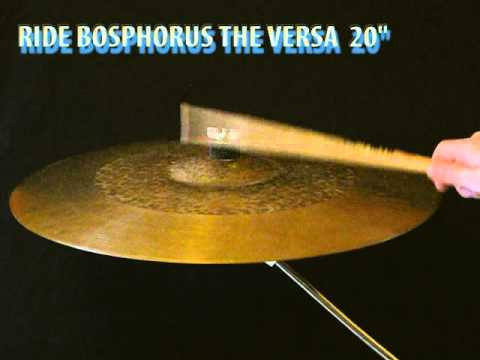 "Bosphorus The Versa ride 20"" cymbal"