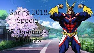 Anime Quiz Special - Spring 2018 - 25 Openings/Endings