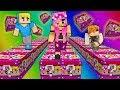 LA LUCKY RACE DI COPPIA DI TIA E SBRISER!!?   Minecraft Minigames