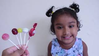 Funny Toddler Learn Colors with Lolli Pop Finger Family Song for Children I Ishfi