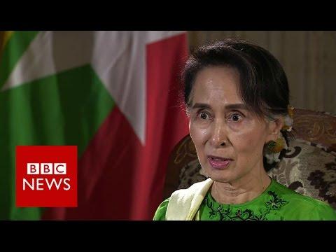 Myanmar: Aung San Suu Kyi exclusive interview - BBC News