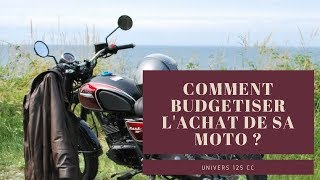 Comment Budgetiser l'achat de sa moto ?
