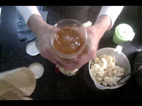 Como preparar coliflor en vinagre - YouTube