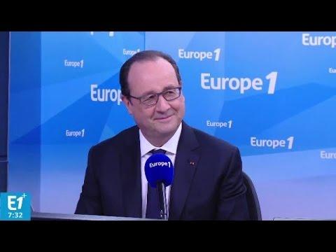 Croissance, impôts, chômage, déficit... Hollande répond aux questions d'Europe 1