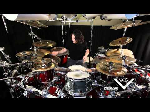 Vater Percussion - Mike Mangini Dream Theater - Vater Slick Nut Demo