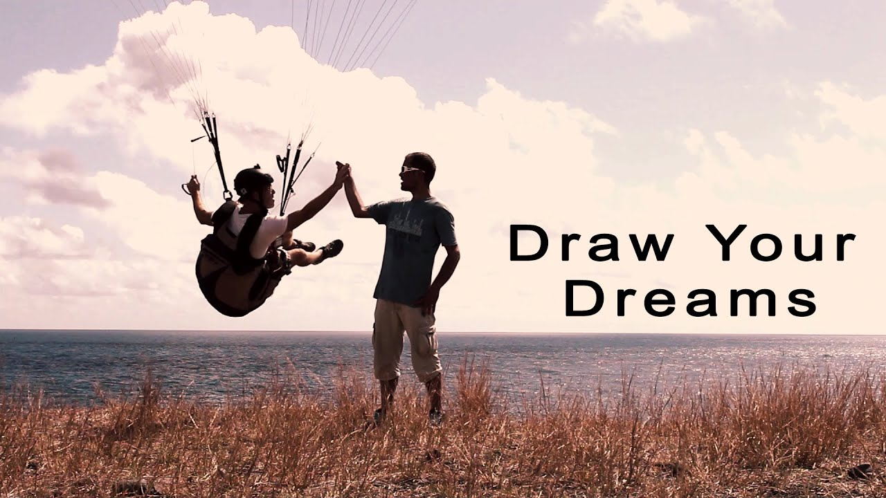 Dream Drawing Draw Your Dreams Paragliding