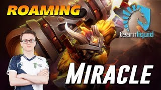 Miracle Roaming Earthshaker Dota 2