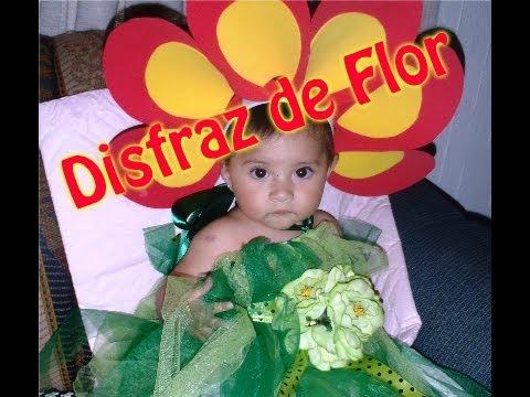 Hacer una flor para disfraz de niña - Imagui