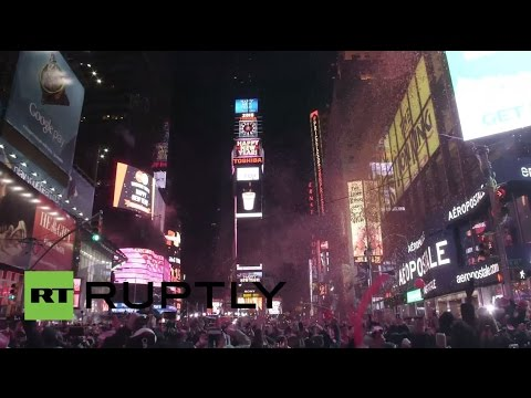 LIVE: New Year's Eve celebrations in Times Square