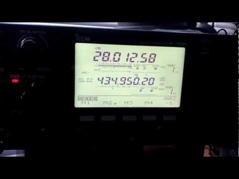 HC2AC & M0EDX AMATEUR RADIO QSO ON 28 MHZ CW