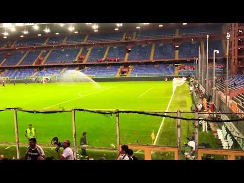 Inno vigili del fuoco Genoa-Juventus 2-4 26/8/17 Curva Sud!