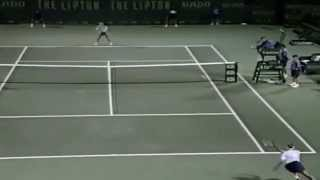 Steffi Graf vs Jana Novotna 1995 Lipton semifinal