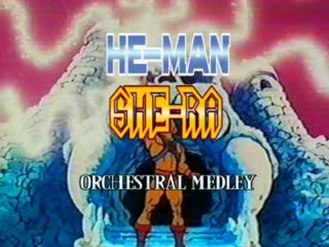HE-MAN & SHE-RA Orchestral themes medley
