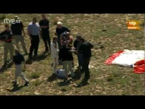 Caída completa de Felix Baumgartner desde la estratosfera (HD)