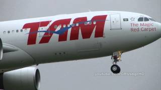 [ HD ] TAM A330-223 Arriving at Guarulhos GRU SBGR