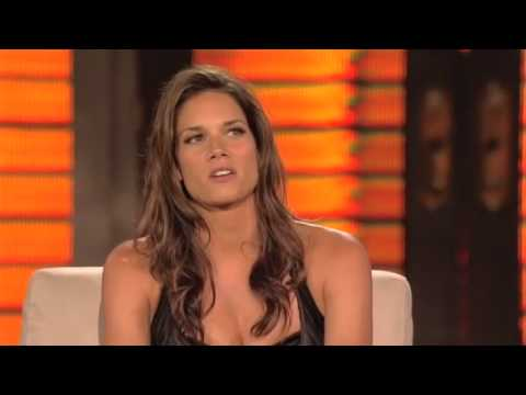 Lopez Tonight Missy Peregrym (7132010)